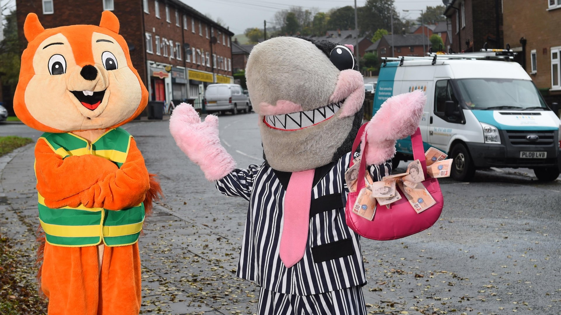 Volunteers from 2 community groups have accessed funding and training to help tackle loan sharks fol