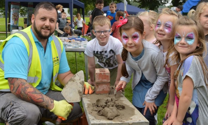 Bury Roadshow entertains kids and provides advice to local residents