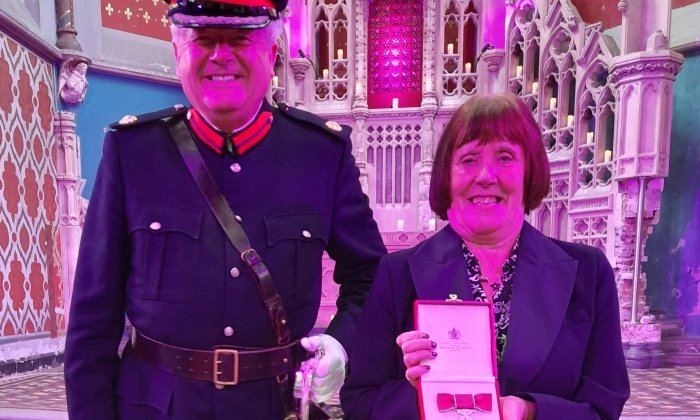 Radcliffe local hero receives British Empire Medal