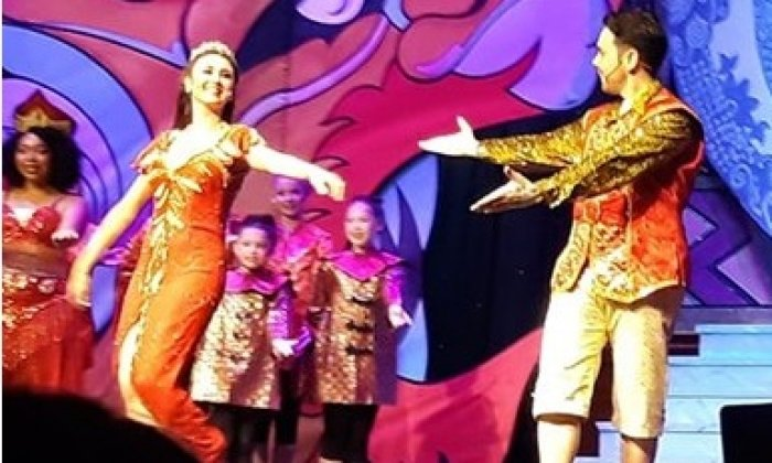 Panto fun for Radcliffe community
