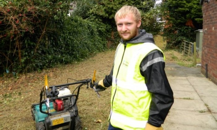 Free programme helps young Bury family man into work