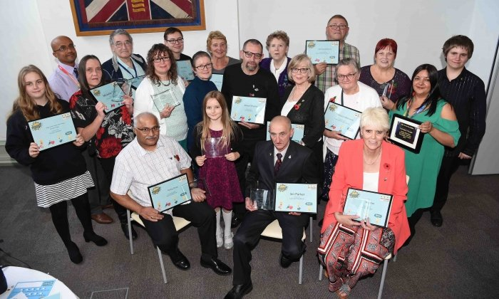 Bury's Community Heroes Celebrated