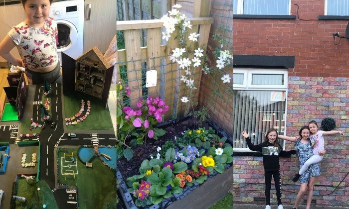 "The winner of Six Town Housing's ""Staying Well"" photo competition announced"