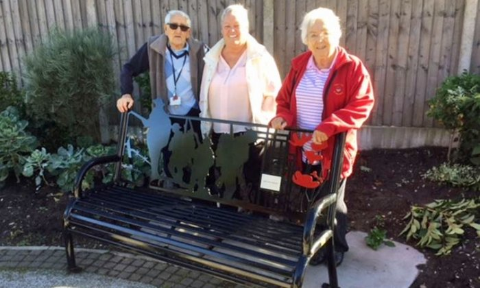 Funds raised for WWI memorial bench