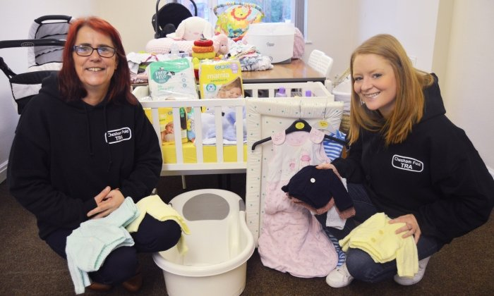 Baby Bank opens in Bury to support parents in need