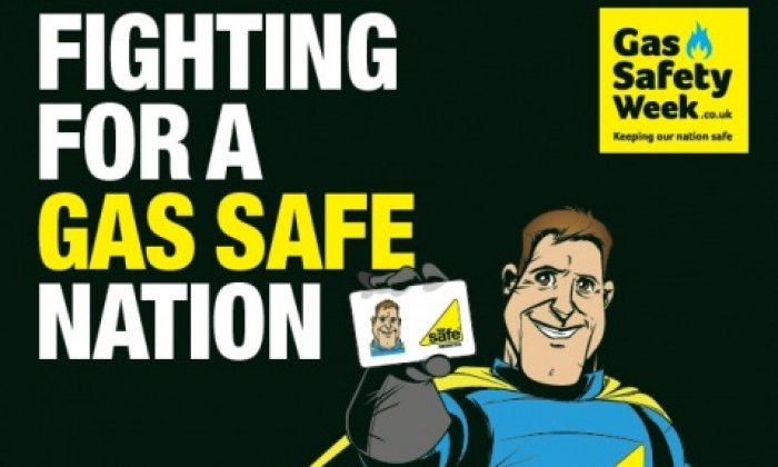 Six Town Housing pledges its support for Gas Safety Week 2015
