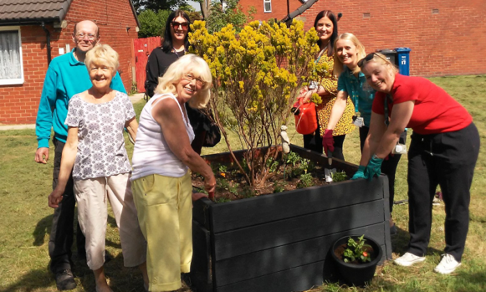 New gardening group in Radcliffe