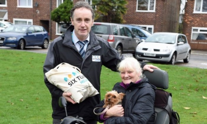 Early Christmas Present for Vulnerable Tenants