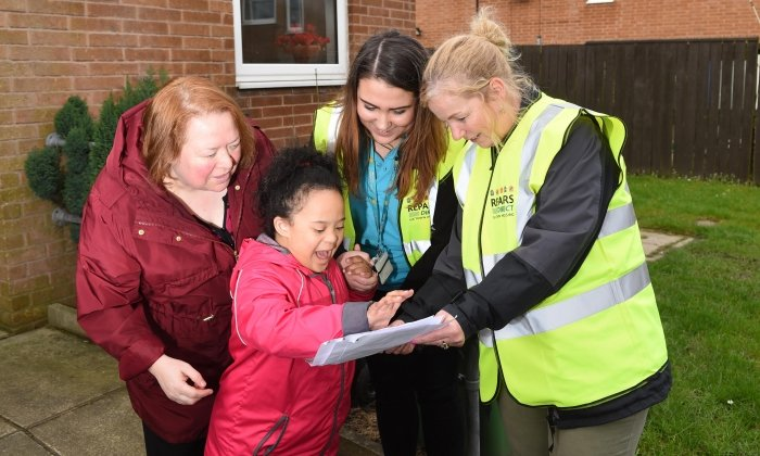 Radcliffe residents access information at community action day