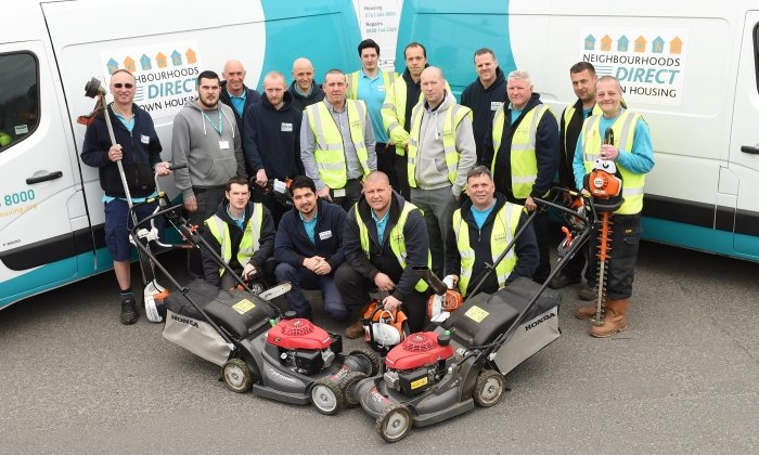 Maintenance Team receives new training & equipment to benefit tenants