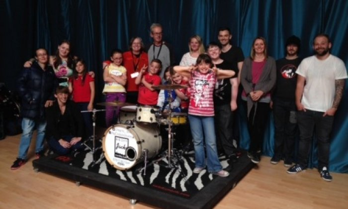 Youth Club enjoying new beat after police donation