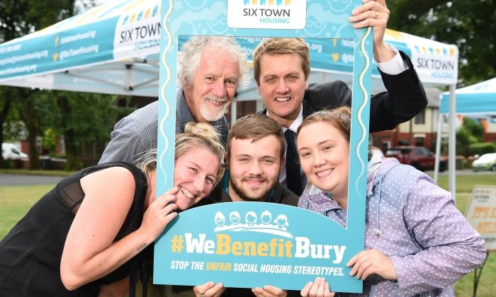 We Benefit Bury campaign shortlisted for 2 tenant participation awards
