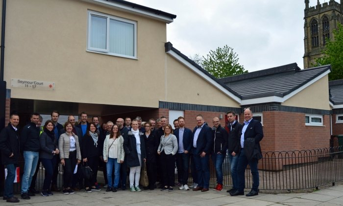 70 Swedish housing professionals visit St Thomas Estate