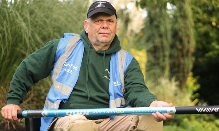 Caretaker becomes UK's first deaf Level 2 professional angling coach