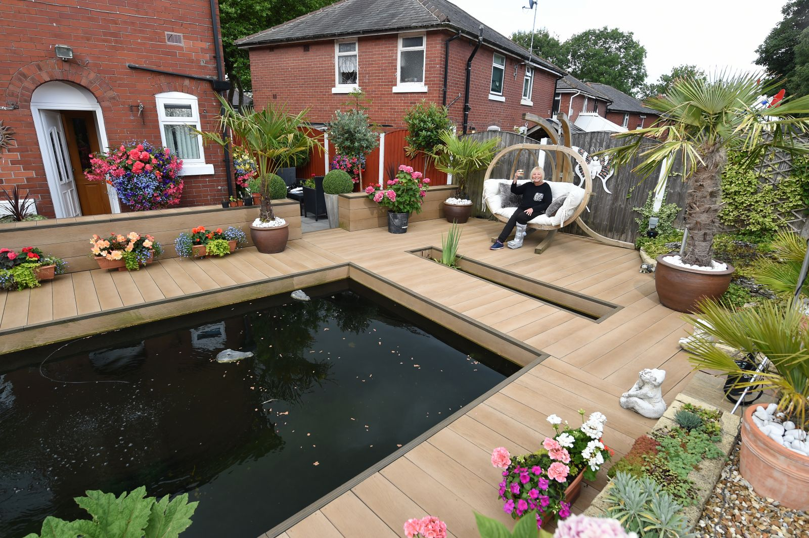 Six Town Housing's gardening competiton received a record 232 entries