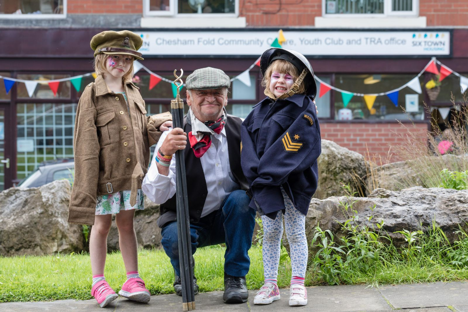 Vintage fun at Chesham Fold TRA event
