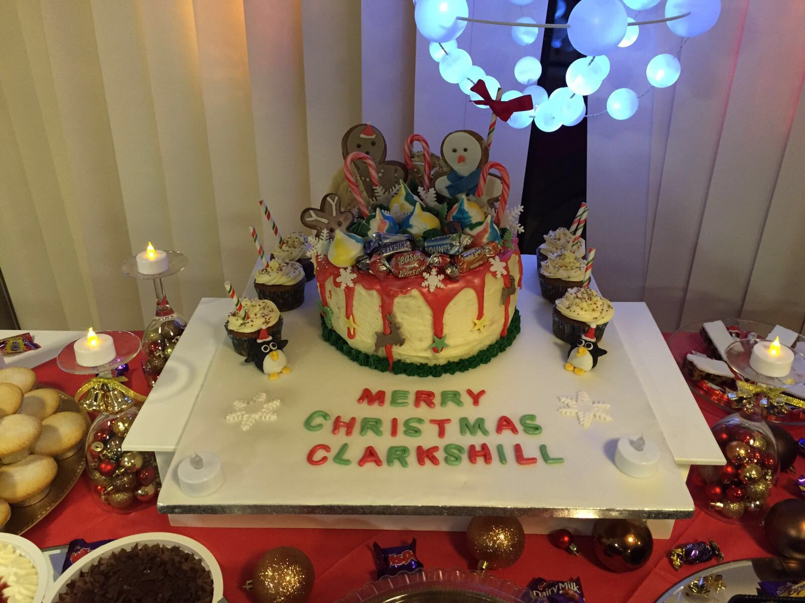Christmas cake at Clarks Hill Retirement Living Scheme