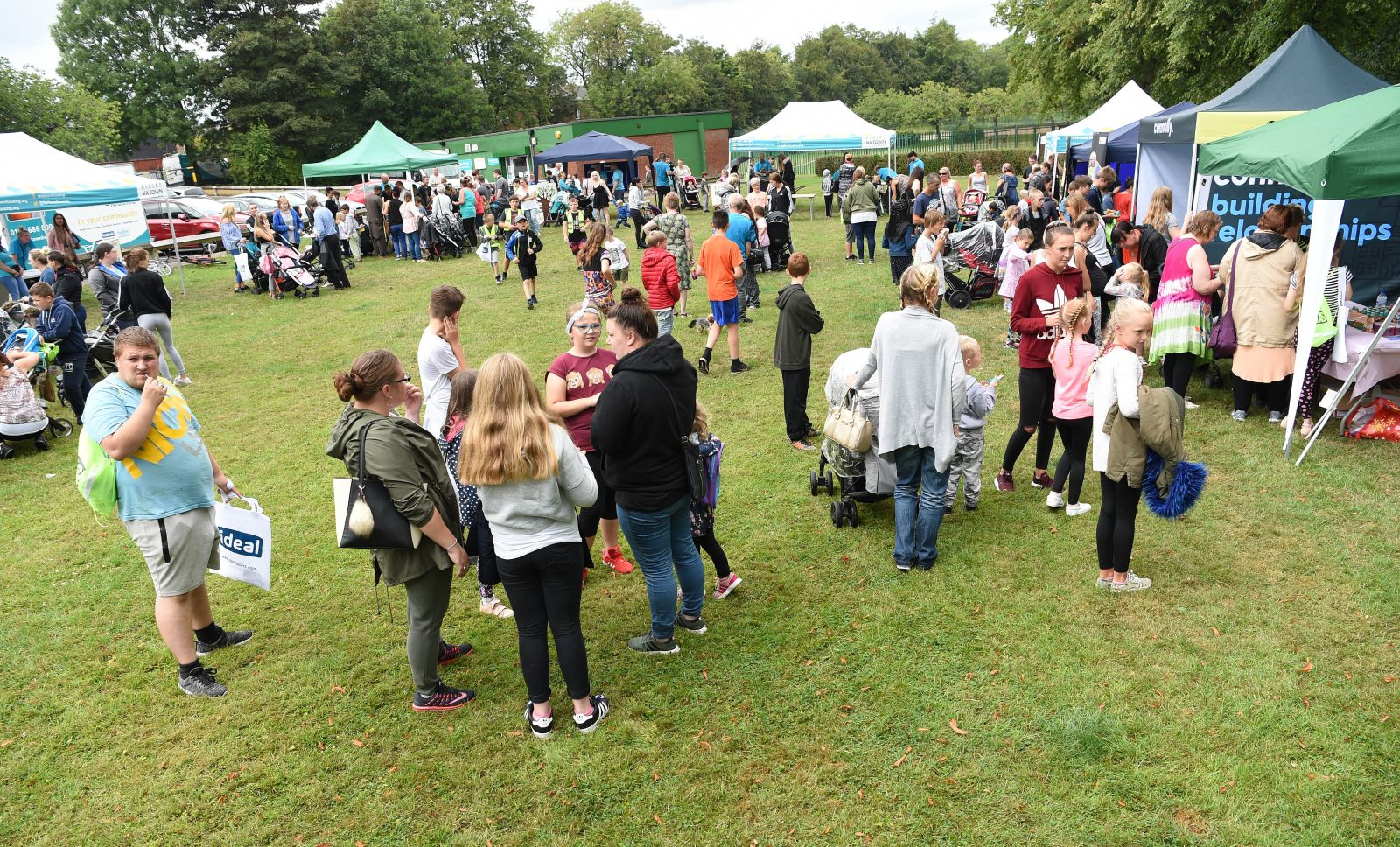 Crowds flock to Hoyles Park in Bury for Six Town Housing's Summer Roadshow