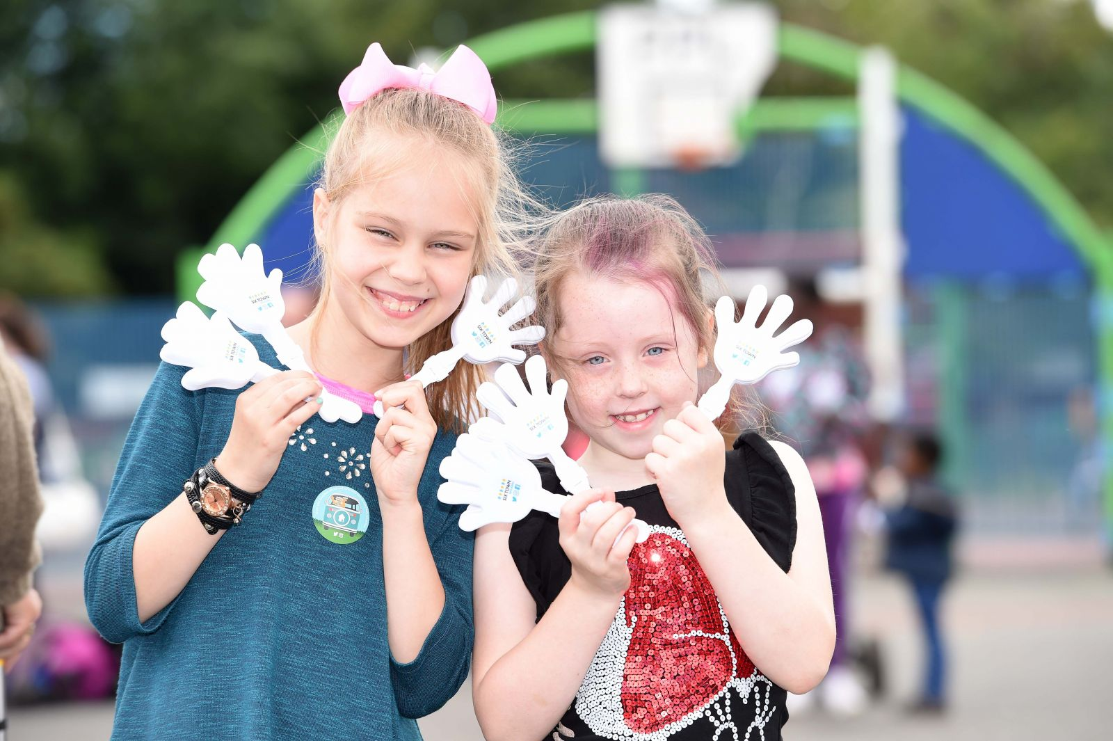 Young visitors at Prestwich Summer Roadshow