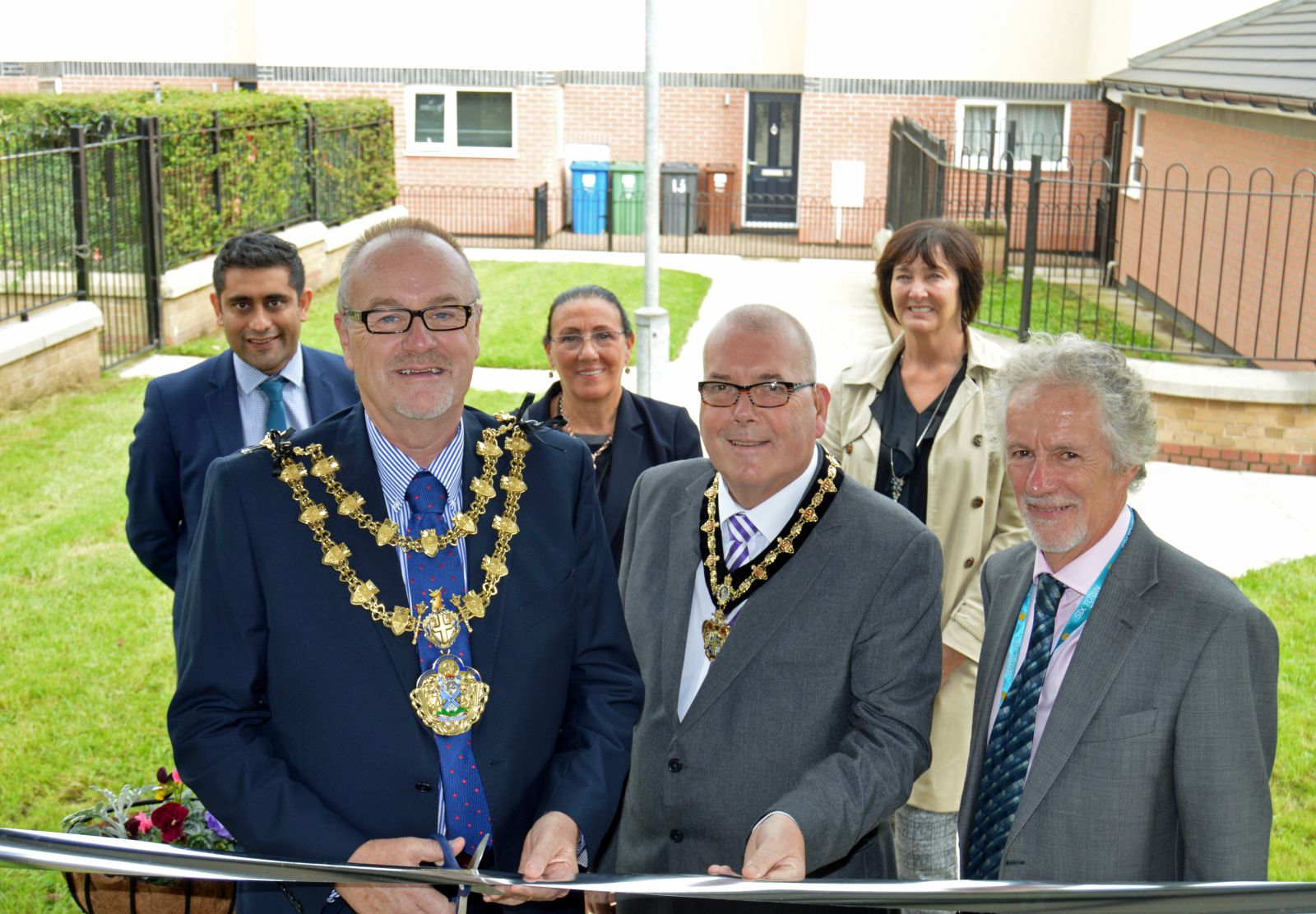 St Thomas estate in Radcliffe has reopened following regeneration work