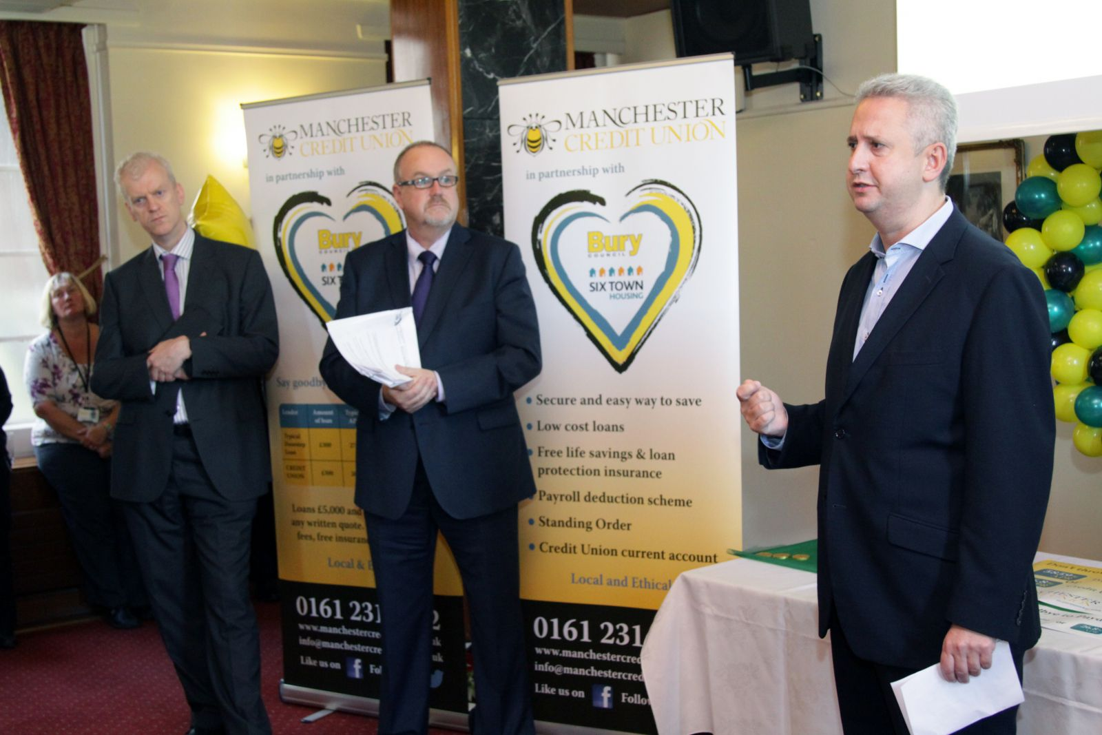 Manchester Credit Union launch