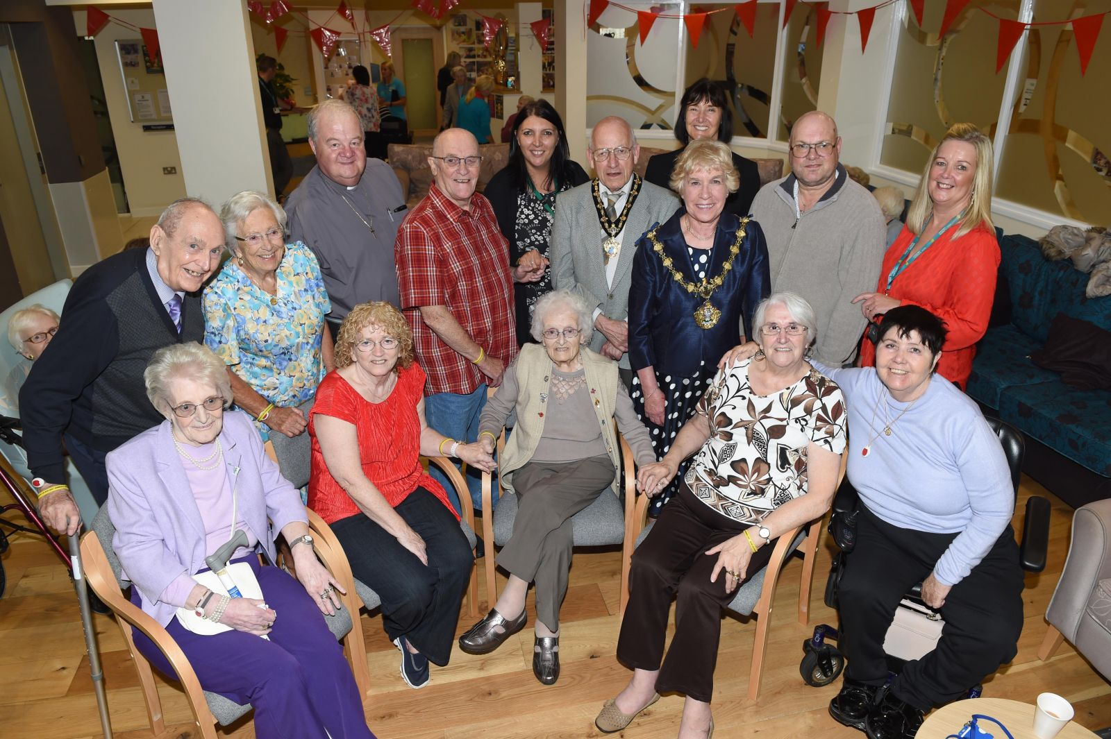 Residents and staff at Red Bank extra care scheme are celebrating 5 years since it opened