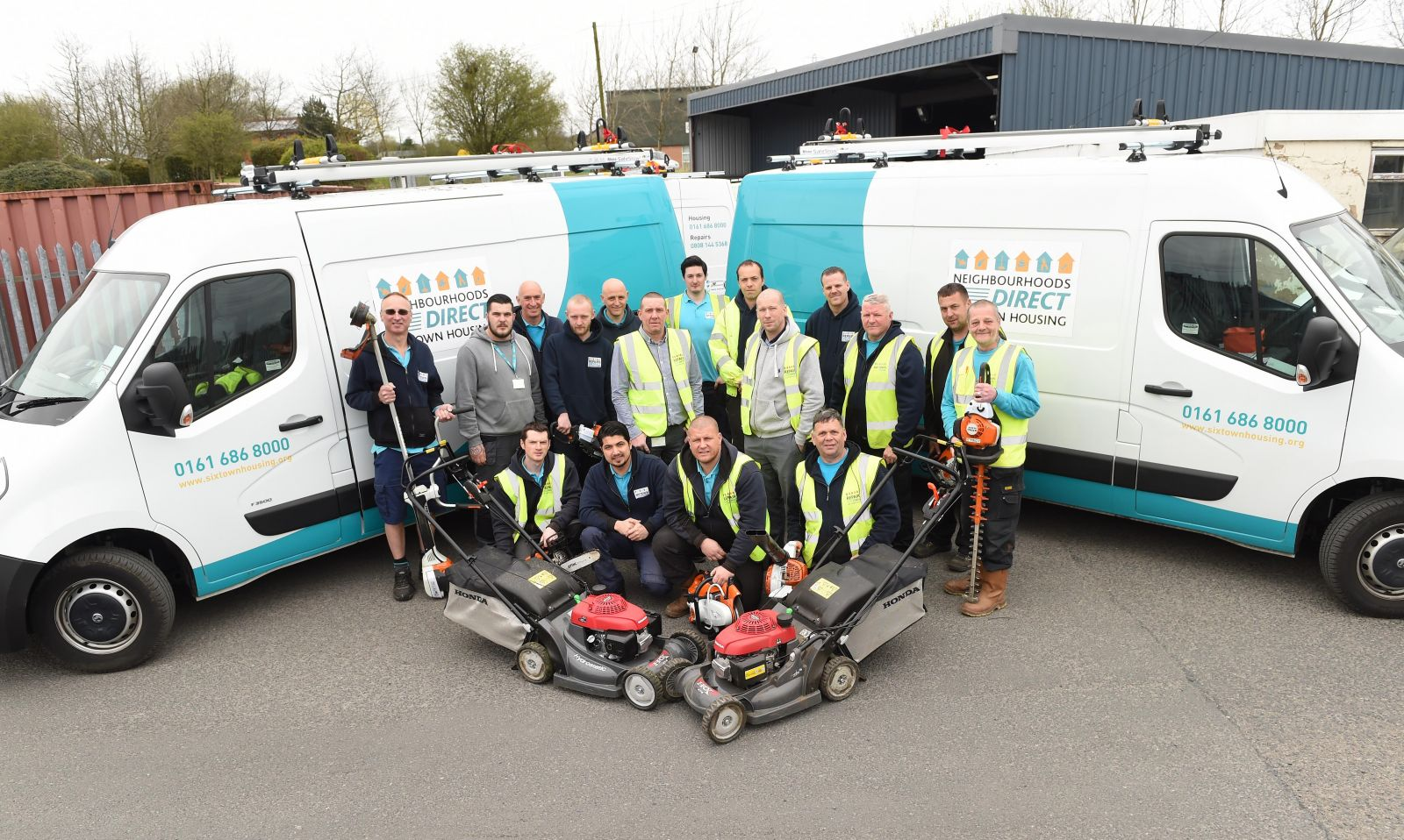 Six Town Housing's Maintenance Team will provide a more localised service
