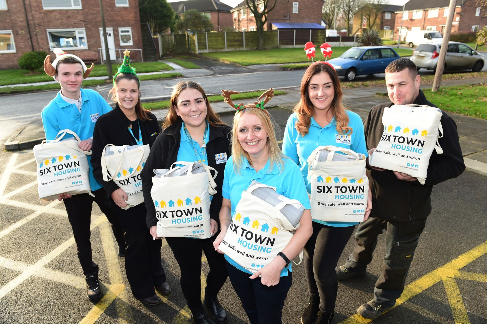 Council tenants in Bury receive Winter Warmer packs