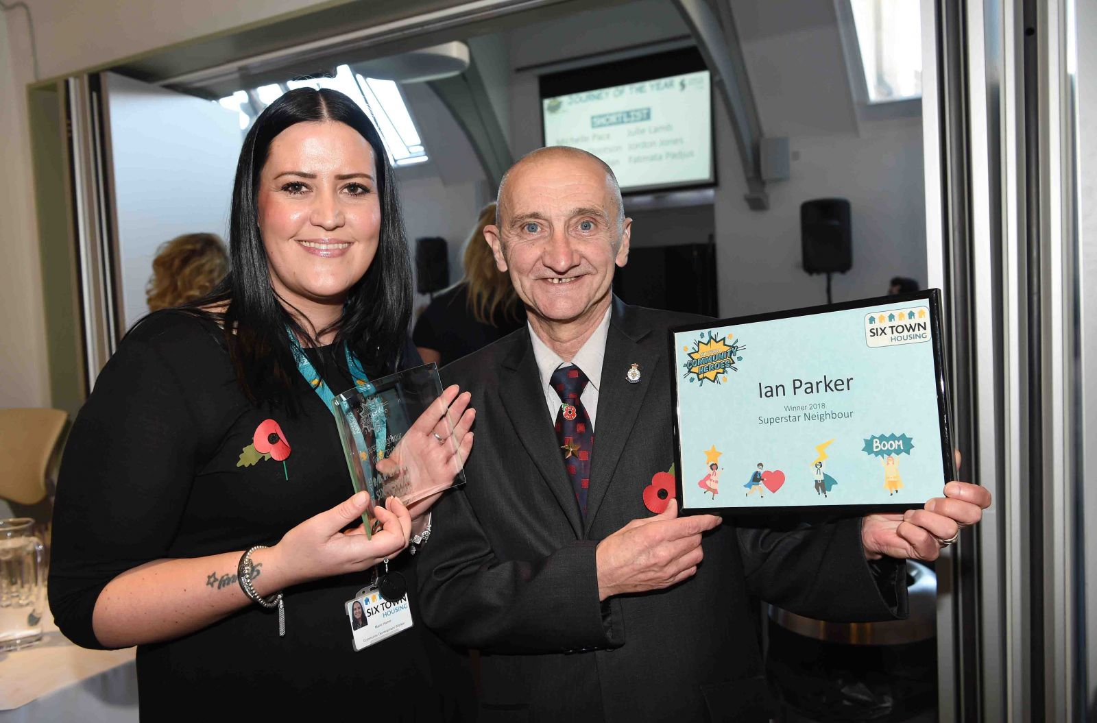 Community Hero Ian Parker recognised at Awards