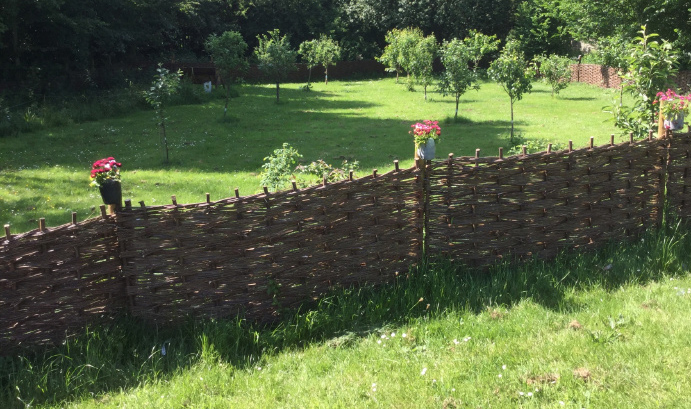 New fencing for Chapelfield in Radcliffe