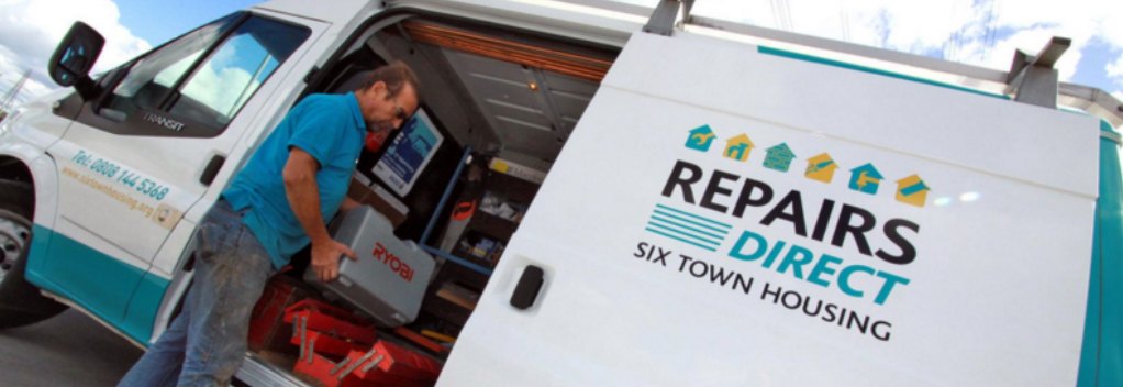 Repairs Direct vans can be spotted around your community